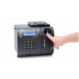 relógio ponto biométrico valores Poço Fundo